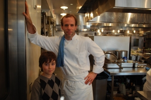 Luc and Chef Dan Barber